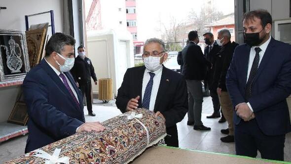 Başkan Büyükkılıç'tan KAYMEK İhtisas Merkezi'ne ziyaret