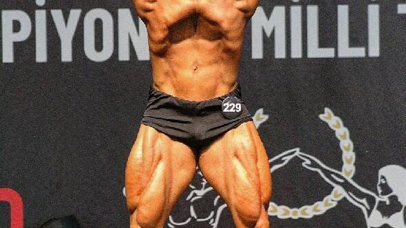 Adanalı vücut geliştirme sporcusu, milli takıma seçildi