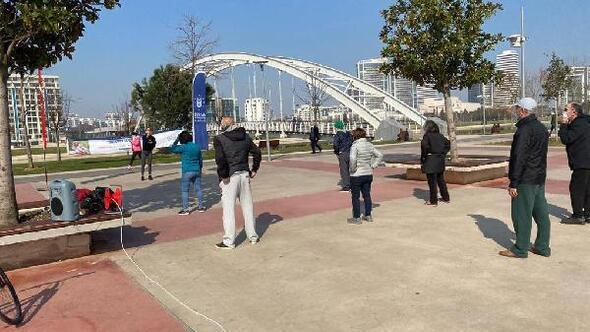 Bursa Büyükşehir Belediyesinden 65 yaş üstü için açık havada spor