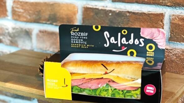 Ege'de soğuk sandviç'in adı; Salados yola çıkanlara dost