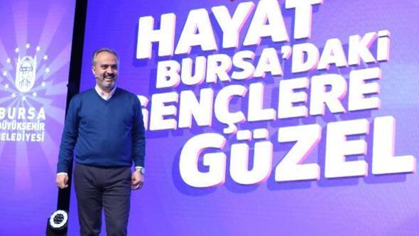 Bursa Büyükşehir Belediyesi Gençlik Kulübü, gençlere fırsatlar sunuyor