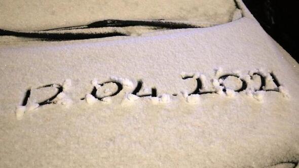 Afyonkarahisarda kar yağışı etkili oldu