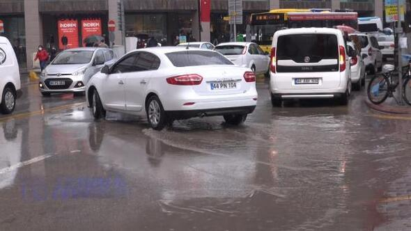 Malatyada sağanak yağmur