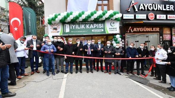 Ortahisar'da iyilik kapısı hisaray' hizmete açıldı
