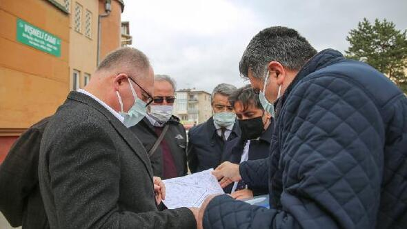 Başkan Bilgin mahalleleri ziyaret etti