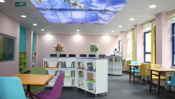 Erbaada, 4 okula daha Z kütüphane kuruldu