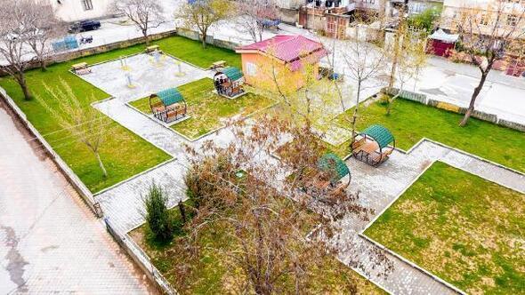 Dulkadiroğlu Belediyesi, Namık Kemal Parkını yeniledi