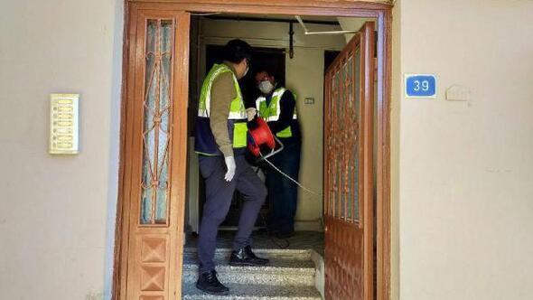 Süleymanpaşada salgınla mücadele apartmanlarla sürüyor