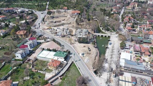 Konya  Büyükşehir Belediyesi Çevre düzenlemelerine devam ediyor