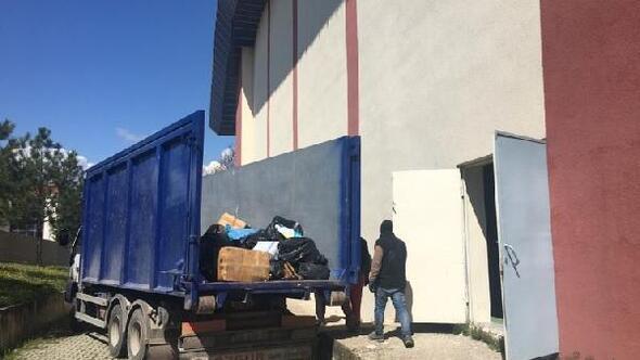 Trakya Üniversitesi, 3 ton kağıt atığı geri dönüşüme kazandırdı
