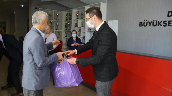 Denizlide çölyak hastalarını glütensiz gıda desteği yapıldı