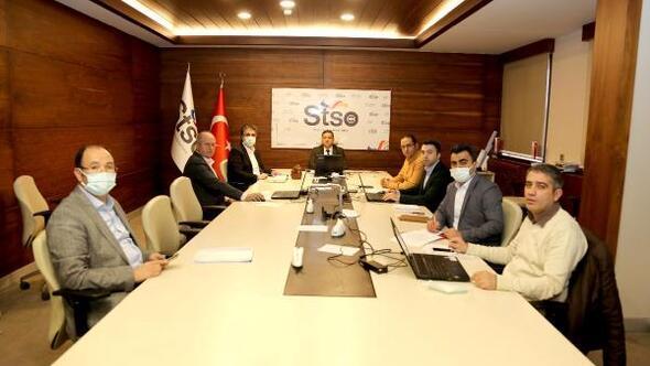 STSO Nisan ayı meclis toplantısı yapıldı