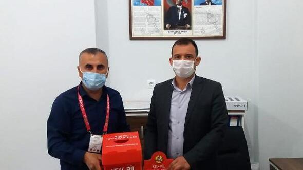 Atık pil toplama kampanyası devam ediyor