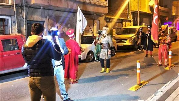 Süleymanpaşada Ramazan ruhu, sahur bandosu ve mehteran ile yaşatılıyor