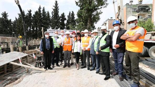PTT Evleri Mahallesi Anaokulu'nun temeli atıldı