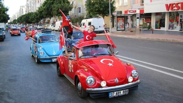 23 Nisanda mobil fener alayı Antalyayı dolaşacak
