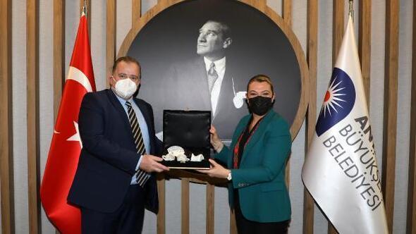 Hırvatistan Büyükelçisinden Büyükşehire ziyaret