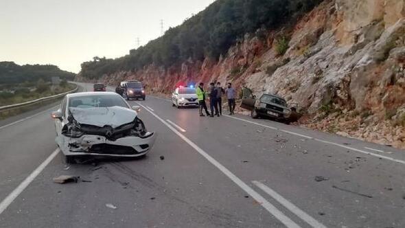 Demrede kaza: 2 yaralı