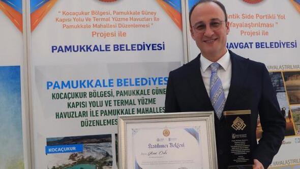 Pamukkale Belediyesinin projesi 1nci oldu