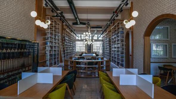 Cemil Meriç Kütüphanesine AKBBden ödül