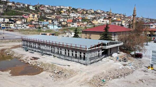 Hacılarda Aile Sağlığı Merkezi inşaatı sürüyor