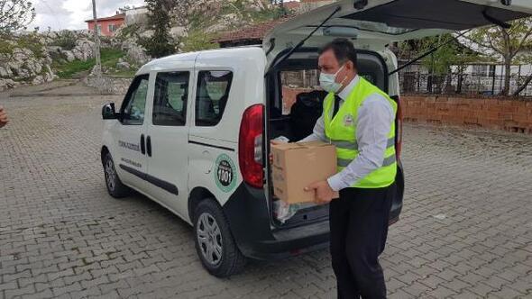 Turhal Belediyesinden ihtiyaçlılara ramazan yardımı