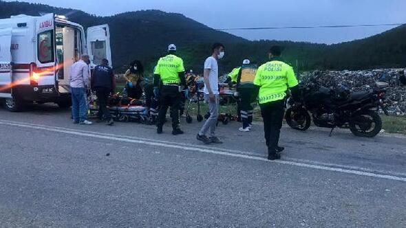 Bucakta kaza: 2 yaralı