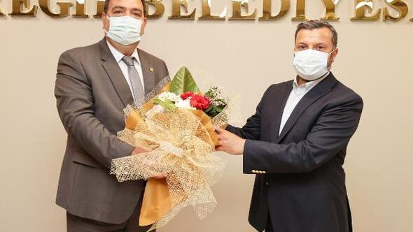 ASKF'den Başkan Kocaispir'e ziyaret