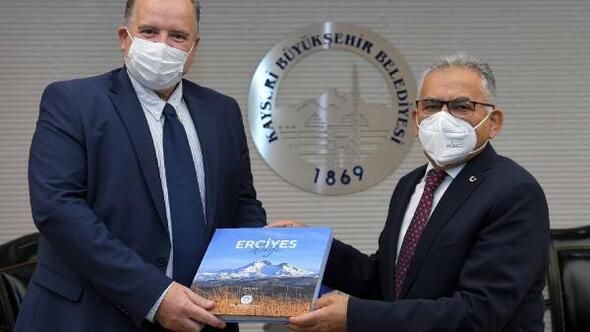 Hırvatistan Büyükelçisinden Başkan Büyükkılıç'a ziyaret