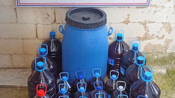 Kırklarelide 550 litre sahte içki ele geçirildi