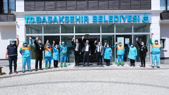 Başakşehir Belediyesinden  1 Mayıs için birlik ve beraberlik mesajı