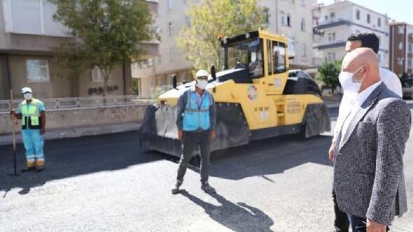 Kocasinan'da yol yenileme çalışmaları sürüyor