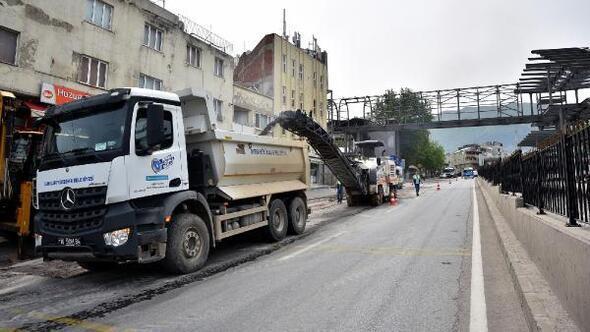 Bursa Büyükşehir Belediyesi tam kapanmada da çalışmalarını sürdürüyor