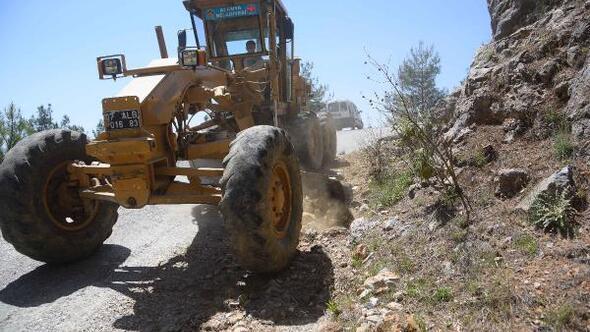 Başkan Yücelden Koşdavut yoluna asfalt müjdesi