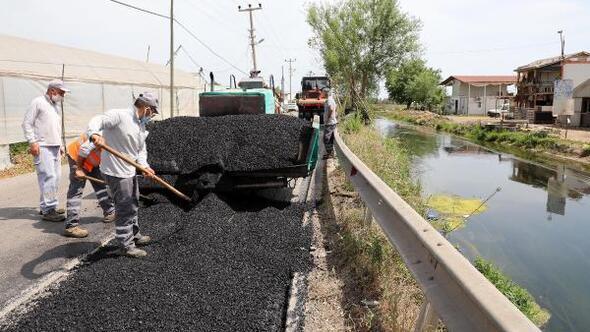 Büyükşehir, Kanal Sokak yolunu yeniliyor