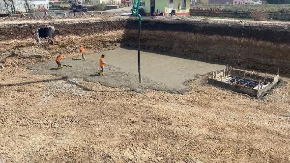 İmranlıda yeni ilkokul inşa ediliyor