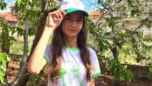 Çocuklara doğa bilinci için Ormanı seviyorum yazılı tişört
