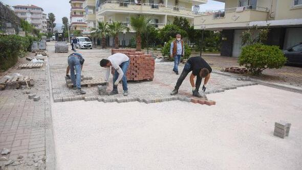 Konaklının cadde ve kaldırımları yenileniyor