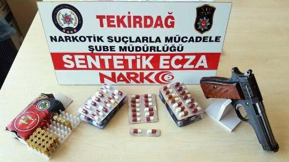 Tekirdağda uyuşturucu operasyonu: 5 gözaltı