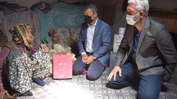 Tarım Müdürü Özenden sürpriz anneler günü ziyareti