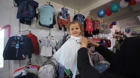 Suriyeli yetim çocuklara bayramlık
