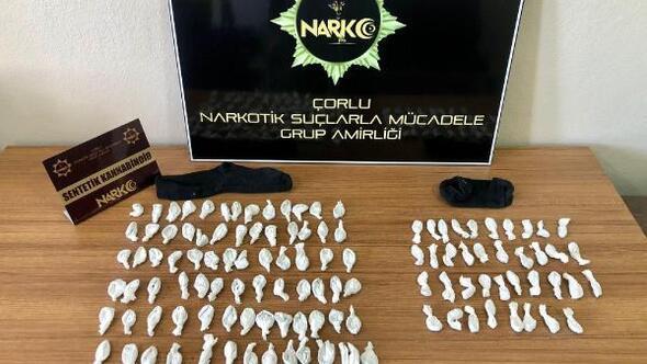 Çorluda uyuşturucu operasyonu: 3 gözaltı