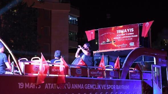 Konyaaltında 19 Mayıs kutlamaları üç gün sürecek