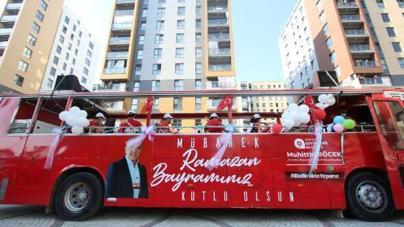 Büyükşehirin Bayram Neşesi Mobil Konserleri sürüyor