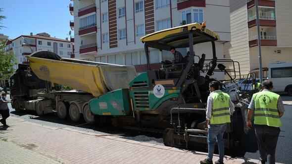 Kahramankazan'da asfalt seferberliği