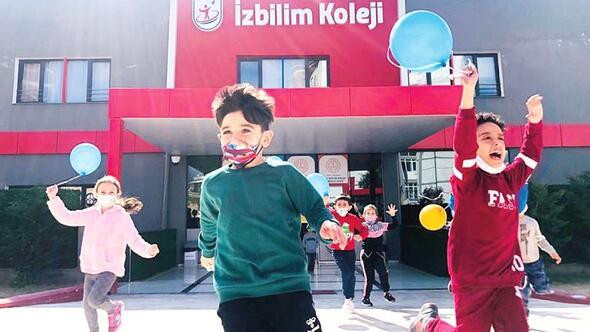 İzbilim Koleji, uzaktan eğitimde fark yarattı