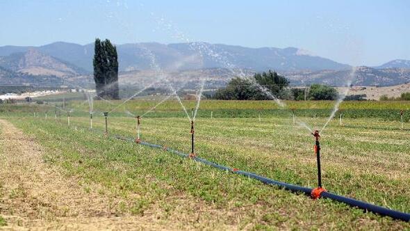 Manisada sulama sezonu 1 Haziranda başladı