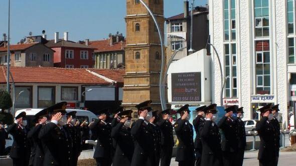 Yozgatta jandarmanın kuruluş yıl dönümü kutlandı