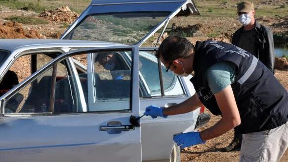 Karamanda change otomobil terk edilmiş halde bulundu