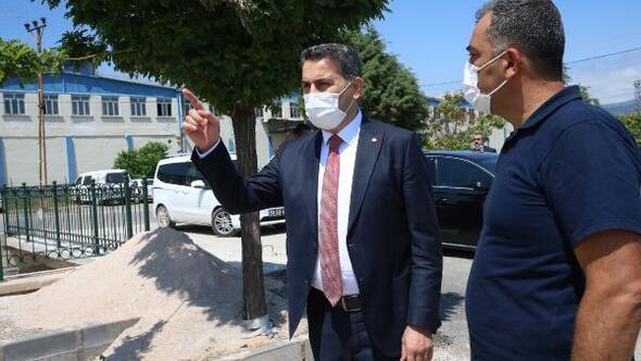 Başkan Eroğlu belediye çalışmalarını yerinde inceledi